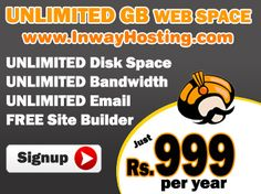 Get Best unlimited web hosting service in india offering with lowest price and highest quality