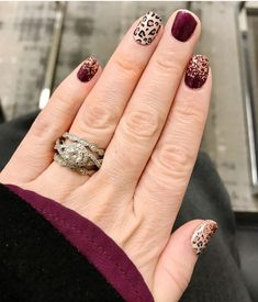 Get Nails, How To Do Nails, Hair And Nails, Fall Nails, Nail Color Combos, Nail Colors, Colorful Nail Designs, Gel Nail Designs, Shellac Nails