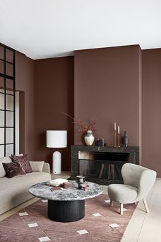 The Nordroom - Jotun Lady Color Trends The Color Trends for 2020 Are Inspi . - living room décor trends - Home Decor Living Room Color Schemes, Paint Colors For Living Room, Living Room Designs, Bedroom Colors, Living Room Interior, Home Interior, Living Room Decor, Interior Paint, Living Rooms