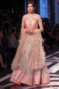 New Delhi: BMW India Bridal Fashion Week - Falguni and Shane Peacock Indian Wedding Outfits, Pakistani Outfits, Indian Outfits, India Fashion, Asian Fashion, Indowestern Lehenga, Engagement Dresses, Asian Bridal, Bridal Fashion Week