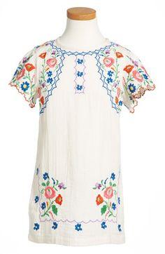 Stella McCartney Kids Flower Dress (Toddler Girls & Little Girls) | Nordstrom