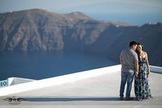 Santorini pre wedding images