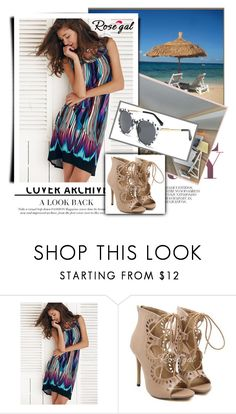 """""""Beach fashion 12"""" by julyete ❤ liked on Polyvore featuring South Beach and rosegal"""