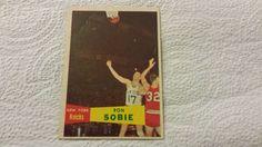 1957-58 Topps New York Knicks Ron Sobie single basketball card