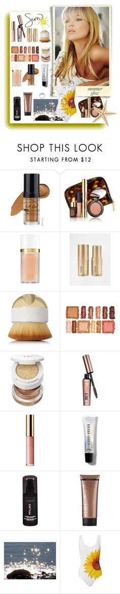 """Golden Goddess: Summer Glow"" by lence-59 ❤ liked on Polyvore featuring beauty, L.A. Girl, Estée Lauder, Tom Ford, Stila, Artis, BHCosmetics, Benefit, tarte and Bobbi Brown Cosmetics"