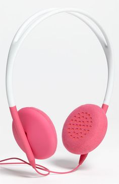 Incase Designs 'Pivot' Headphones $23.98 (reg $59.95). Colors are green or pink. Nordstrom.com. Includes free shipping.