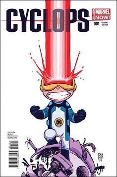 """Cyclops (2014) #1 Skottie Young """"Baby"""" Cover"""