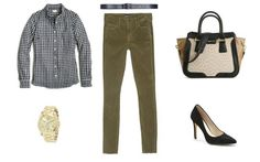 The Colored Jeans You'll Crave This Fall: Colored Denim - Olive Green Jeans