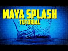 Creating A Water Splash in Maya 2018 With Bifrost - CGMeetup : Community for CG & Digital Artists