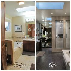 What a huge difference and amazing bathroom to have!