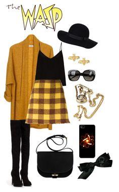 """Wasp"" by snega-amante on Polyvore featuring мода, American Vintage, Raey, Nly Shoes, N°21, Sydney Evan, Monki, Bottega Veneta и Chanel"