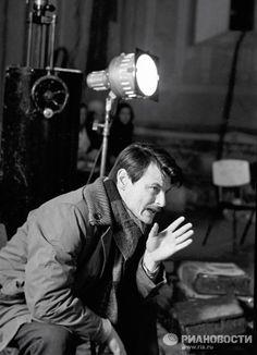 Tarkovsky filming Andrei Rublov