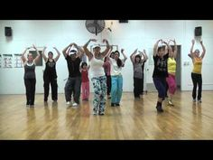 This style isn't for everyone, but those that liked the movie will probably enjoy doing this one.  Again...thanks to all of the faithful Zumba fans that came to the gym on their Sunday to help finish filming all our songs before I move this summer!  Y'all are awesome!!  (I do not own the rights to this song and this video is only meant for enter...