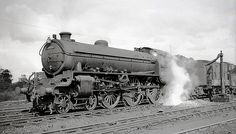 61357 Class B1 4-6-0 at Polmont Scotland August 1951 by John Wiltshir…