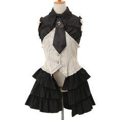 ネクタイ付きシャツ|ゴスロリ・ロリータファッション服の通販はワンダーウェルト