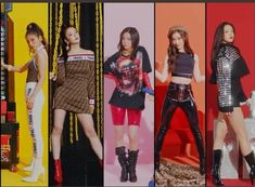 JYP Entertainment recently dropped a prologue film and introduced their newest girl group, ITZY . JYP Entertainment Drops Prologue Film F. Stage Outfits, Kpop Outfits, Dance Outfits, Kpop Girl Groups, Korean Girl Groups, Kpop Girls, Teaser, Bts K Pop, Devon Aoki