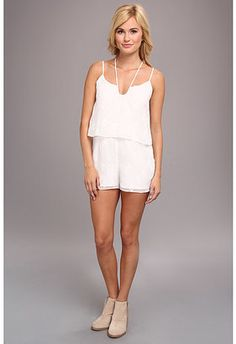 DV by Dolce Vita Tier Romper - Shop for women's Romper - White Romper