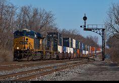 Csx Transportation, Trains, Ohio, Columbus Ohio, Train