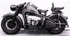 Zündapp KS 750 | Тяжелые армейские мотоциклы времен Второй мировой войны