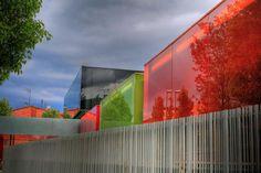 chromatic infinity…..    'L l RCR Arquitectes l guardería els colors . manlleu