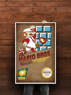 Nintendo Poster - Mario Bros.