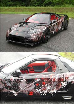 Airbrushed car7 by Tomohiro