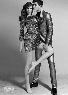 male model/\. female model. couple