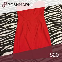 DRESS Sexy, red wet seal dress. Size large. Worn once Wet Seal Dresses Mini