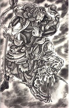 1000 Images About HORIYOSHI Iii 108 Demons On Pinterest Samurai