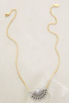 Indulgems Spiral Orb Necklace #anthroregistry