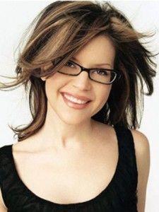 Women Wearing Rimless Glasses Silhouette Rimless