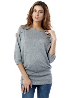 Seraphine - Nessa Bamboo Nursing / Maternity Jumper - Breastfeeding Tops - Queen Bee Maternity Wear Online