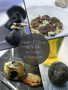 Huile d olive aux truffes sur nos marchés du VAR !