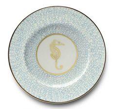 Mer Turquoise Dinnerware by Alberto Pinto | Gracious Style
