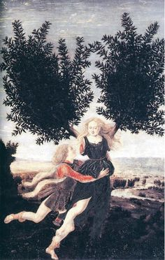 Pollaiuolo, Antonio: Apollo and Daphne (1470-80) | Great Works | Culture | The Independent