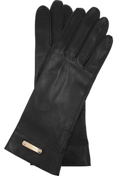 Burberry - Leather gloves