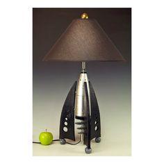 Retro Rocket table lamps 239. Steam punk von highdesertdreams