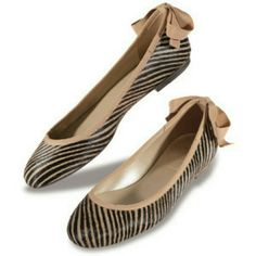 French sole zebra  flat pony hair super adorable ballet flatsImpress at first glance!worn twice and the bottom is likely brand new. come with original box.I normaly wear size 7.5 for flat,but this is the only size available in store French sole fs/ny Shoes