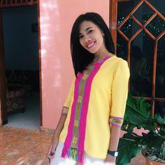 NTT Tenun blouse