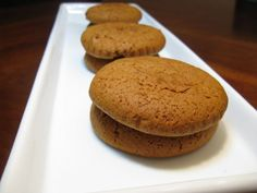 Squeeze Me Softly: Molasses Cookies