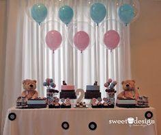 Aniversário do casal de gêmeos: Bianca e Lucas - Tema Ursos:
