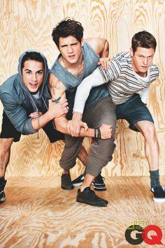 3 acteurs de Vampire Diaries