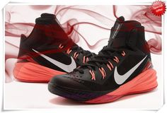 Authentic Black/Metallic Silver-Hyper Punch-Fucsia Forza Nike Hyperdunk 2014 653640-006