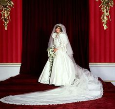 Princess Diana of Wales In 1981 Diana Spencer married Prince Charles wearing a history-making gown by David and Elizabeth Emanuel. The pouf-y sleeves. Lady Diana Spencer, Spencer Family, Royal Brides, Royal Weddings, Designer Wedding Dresses, Wedding Gowns, Bridal Gown, Couture Bridal, Modest Wedding