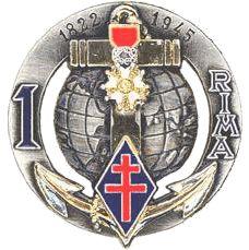 Troupes de Marine - Chant du 1er RIMa !