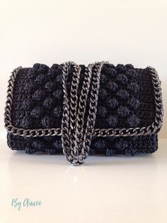 Crochet bobble clutch Handmade Handbags & Accessories - amzn.to/2ij5DXx Clothing, Shoes & Jewelry - Women - handmade handbags & accessories - http://amzn.to/2kdX3h7
