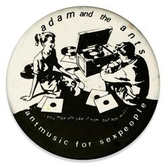 Old adam and the ants badge