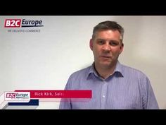 Rick Kirk, Sales Director B2C Europe (UK) Ltd, presenting how B2C Europe can give British online retailers access to all B2C Europe's distribution options for shipping parcels to international destinations.