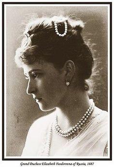 Grand Duchess Elizabeth Feodorovna photo detail c1887