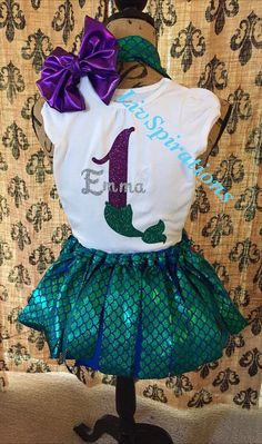 Hey, I found this really awesome Etsy listing at https://www.etsy.com/listing/264751943/little-mermaid-mermaid-birthday-party